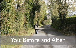 You before and after