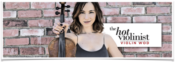 Jenny O'Connor The Hot Violinist